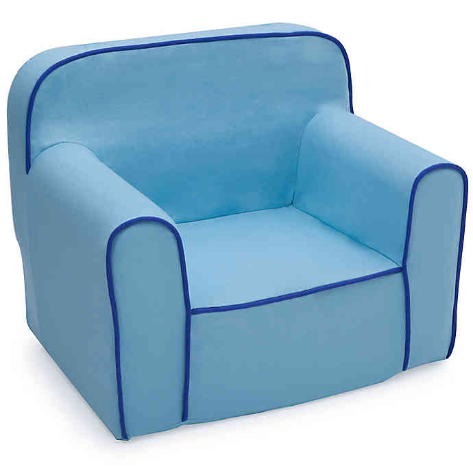 Delta Children Snuggle Chair in Blue | buybuy BA