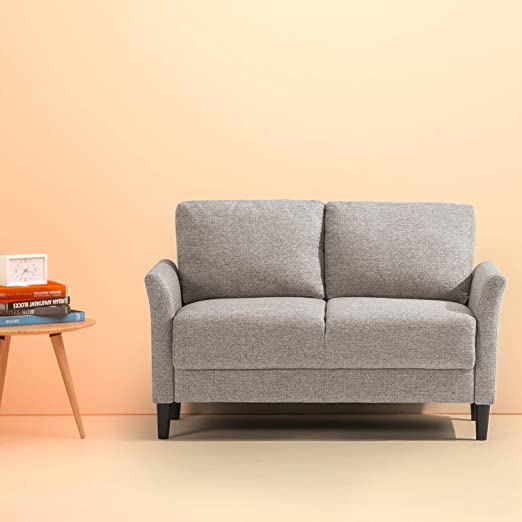Amazon.com: Zinus Jackie Classic Upholstered 53.5 Inch Sofa Couch .
