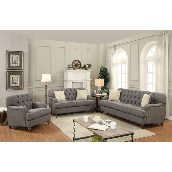 Canora Grey Oakes Configurable Sofa Set | Wayfa