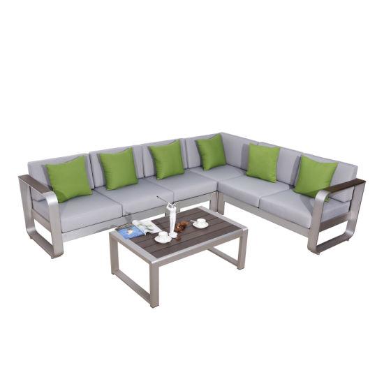 China L Shape Lounge Lying Sofa Set Outdoor Modern Garden Sets .
