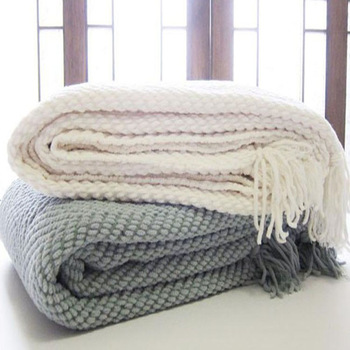 Szplh Herringbone Bedding Throw And Luxury Throws For Sofas In .