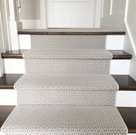 How to Choose and Lay a Stair Runner: An Overview | Caroline on Desi