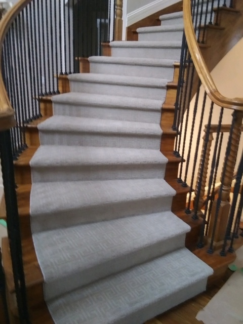 Custom Stair Runners beautify your home – Coventry Floori