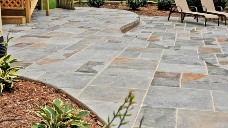 24 Amazing Stamped Concrete Patio Design Ideas - Remodeling Expen