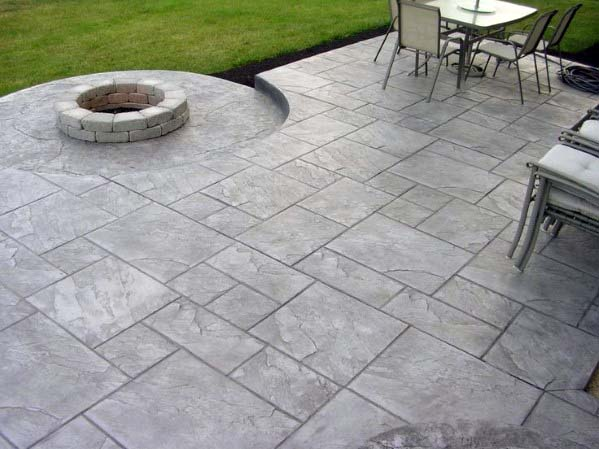 Top 50 Best Stamped Concrete Patio Ideas - Outdoor Space Desig