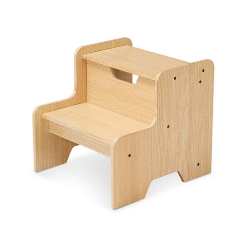 Melissa & Doug Wooden Step Stool - Natural : Targ