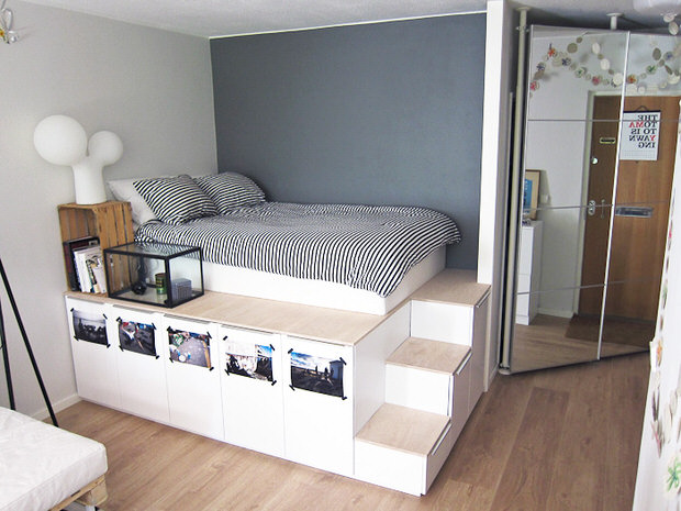 DIY Storage Bed Projects • The Budget Decorat