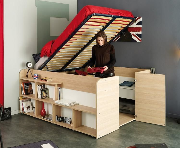 Storage Closet Bed Frames : storage be
