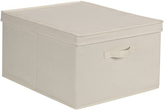 Amazon.com: Household Essentials 115 Storage Box with Lid and .