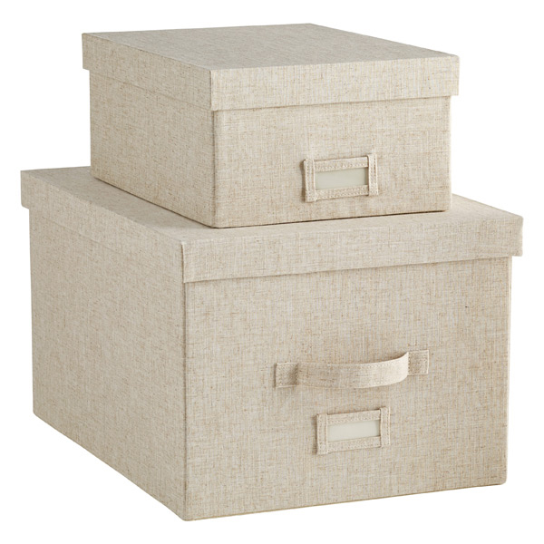 Linen Storage - Linen Storage Boxes | The Container Sto