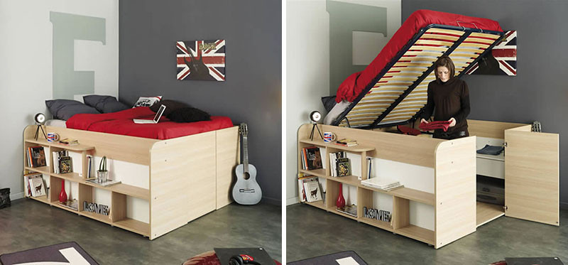 These bed/closet combinations are a good design option for small .