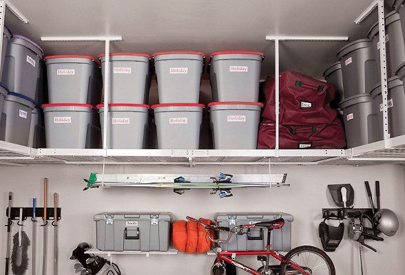 Marco Makeover: Overhead Garage Storage Solutions - Marco Close