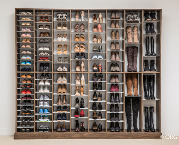 Shoe Storage Solution Worthy of Your Holiday Wish List | Colorwise .