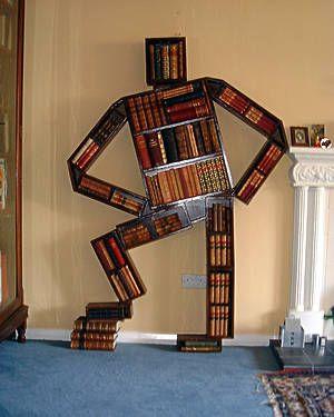 Creative and Stylish Bookshelf Designs. | Cool bookshelves .