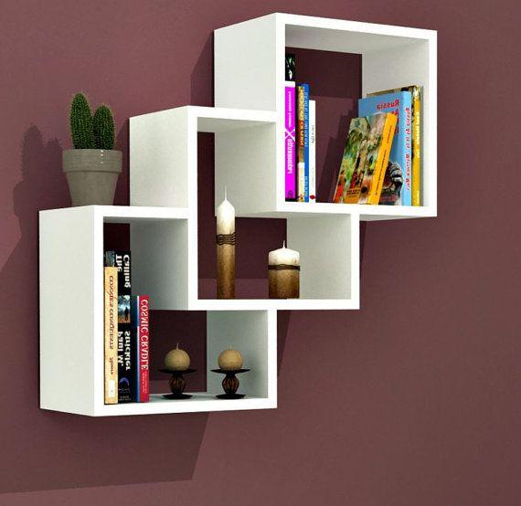 wall shelves bookcase,bookshelf,bookshelves Simple and stylish .