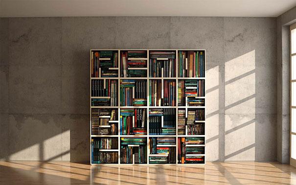33 Creative Bookshelf Desig
