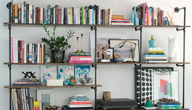 How-To Curate a Stylish Bookcase - LuxeDec