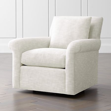 Cortina Swivel Chair + Reviews | Crate and Barr