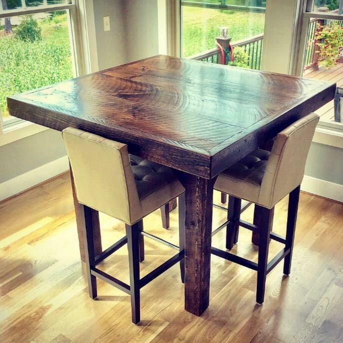 Farmhouse Pub Table – Small – Chic & Antiq