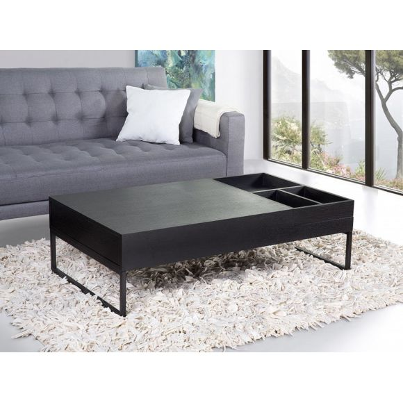 BELIANI - Table basse - table de salon - noir - Beja - pas cher .