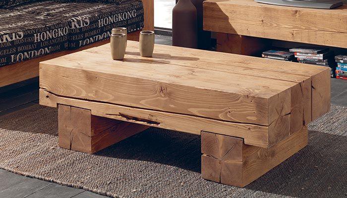 Table de salon | Woodworking furniture, Wood furniture, Tab