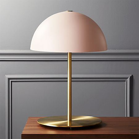 Hanna Pink Table Lamp + Reviews | C