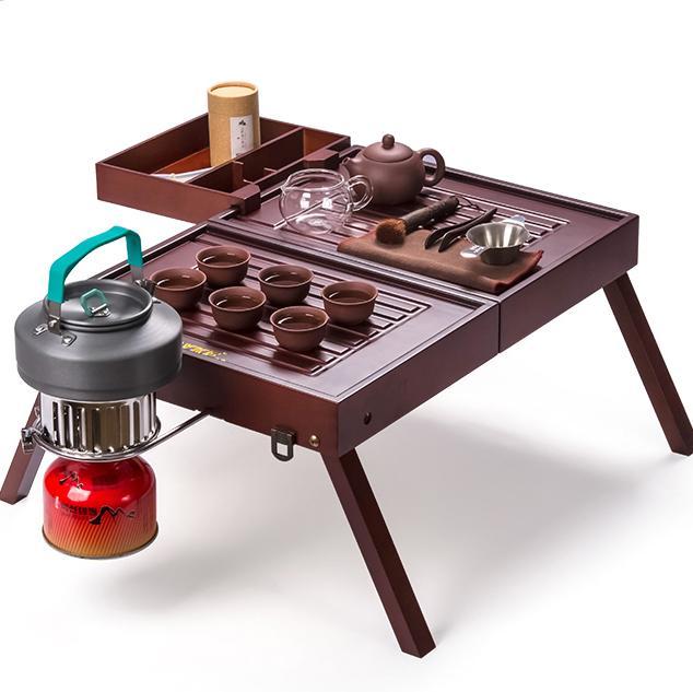 Travel portable simple mini coffee table foldable tea table .