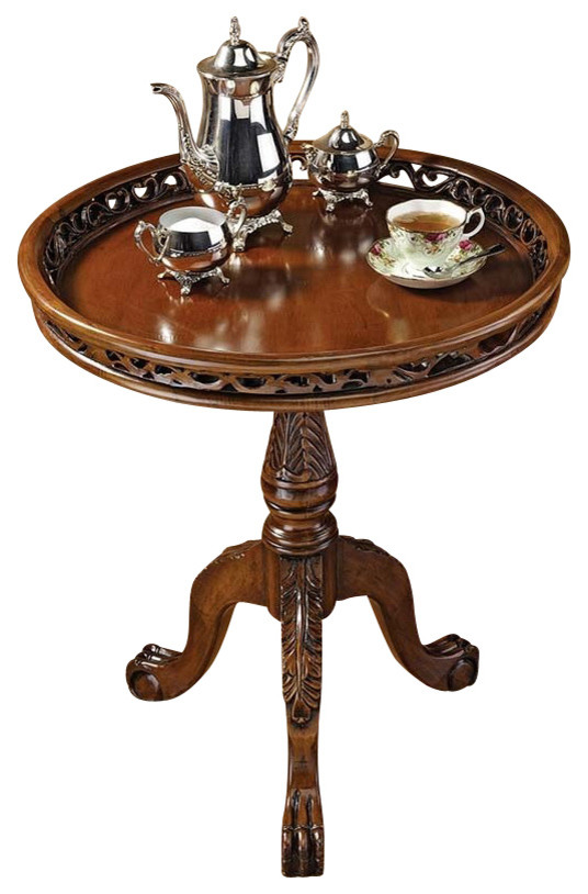 Lady Wentworth Pie Crust Tea Table - Victorian - Side Tables And .