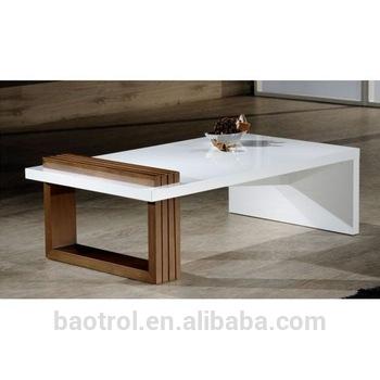 Living Room Furniture Design White Rectangular Artificial Stone .