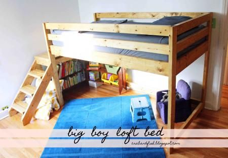 Big Boy Toddler Loft Bed! | Do It Yourself Home Projects from Ana .