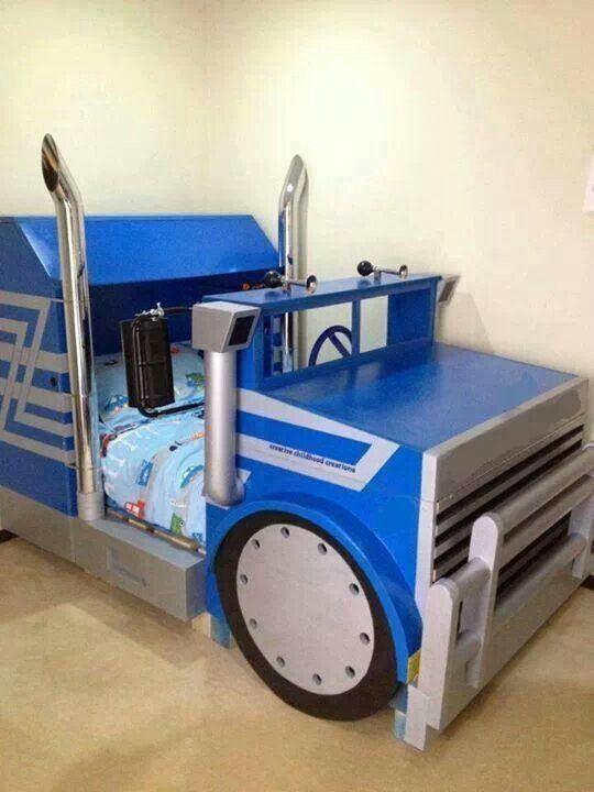 Toddler Bed For Boys | Truck toddler bed, Kids beds for boys, Kids .