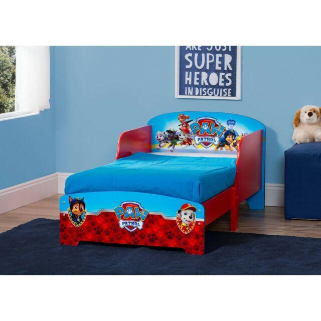 Paw Patrol Wooden Toddler Bed Kids Boys Bedroom Furniture for sale .