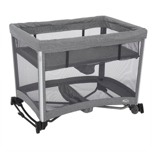 Halo 3-in-1 DreamNest Rocking Bassinet, Portable Crib, Travel Cot .