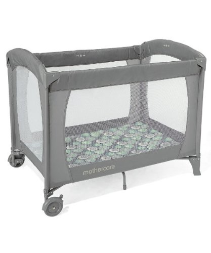 Buy Mothercare Classic Travel Cot Serenity (Gray) Online at Low .