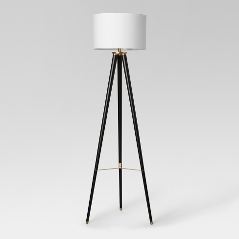 Delavan Tripod Floor Lamp Black - Project 62™ : Targ