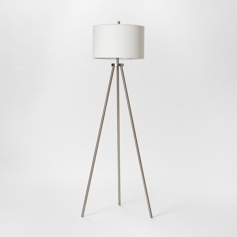 Ellis Collection Tripod Floor Lamp Nickel - Project 62™ : Targ