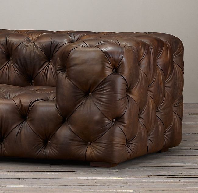 Soho Tufted Leather So