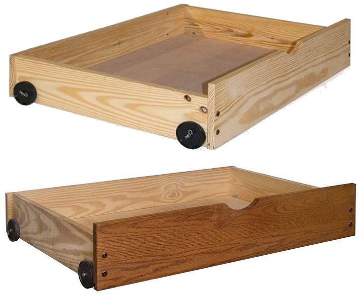 Under bed shoe storage on wheels | ChoozOne | Diy storage bed .