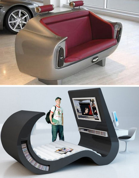 Unusually Clever Living Room Furniture Designs: From Coffin .