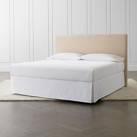 Cole King Upholstered Headboard without Nailheads + Reviews .