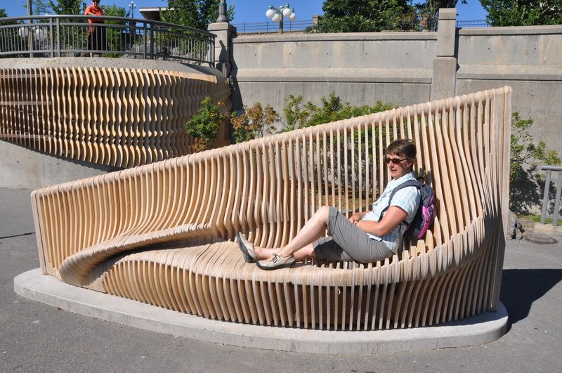 Bench/Artwork - Ottawa … | Urban furniture design, Urban furniture .