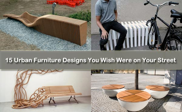 15 Urban Furniture Designs You Wish Were on Your Street | Freshome.c
