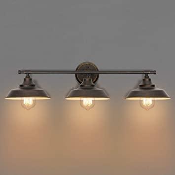 KingSo Bathroom Vanity Light 3 Light Wall Sconce Fixture .