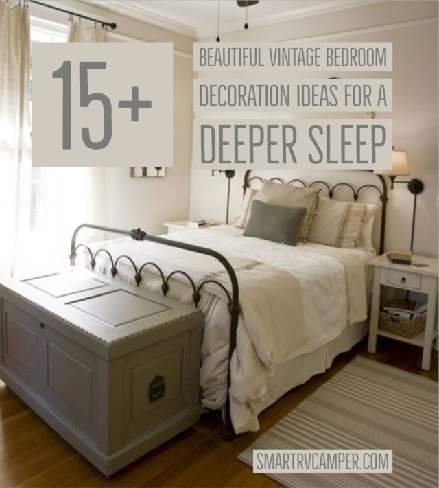 15+ Beautiful Vintage Bedroom Decoration Ideas for a Deeper Sleep .