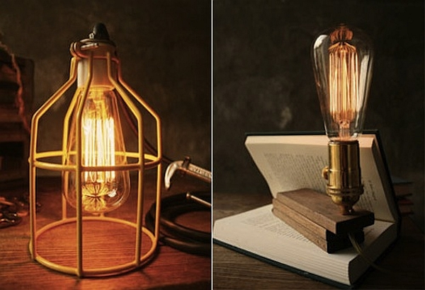 Handmade Luke Lamps Take You Back to the Vintage E