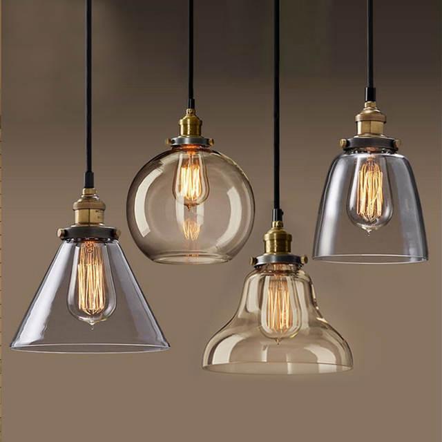 hanglamp pendant lamp copper glass restaurant pendant lights .