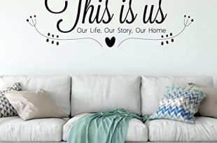 Amazon.com: Family Wall Decal - This Is Us Our Life, Our Story .