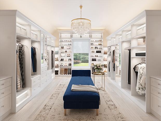 Walk In Closet Systems | Walk-In Closet Design Ideas | California .