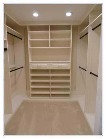 5 X 6 Walk In Closet Design (With images) | Closet layout, Closet .