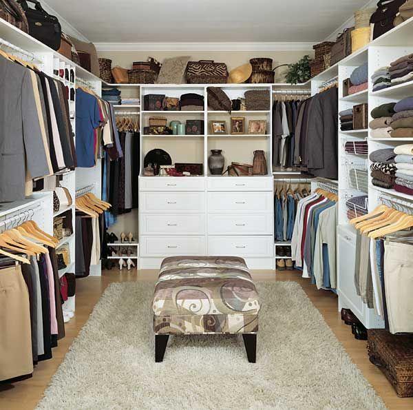 12 Small Walk in Closet Ideas and Organizer Designs | Organizing .
